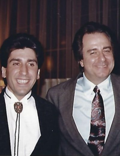 Joe Bartell and hit Songwriter Bobby Weinstein
