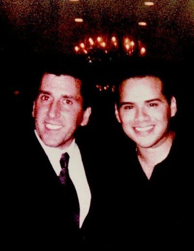 Joe Bartell and recording artist Victor De Leon